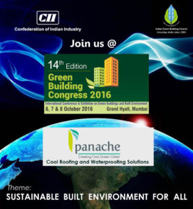 Panache Green - IGBC - Green Building Congress - 2016